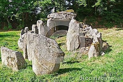 Prehistiric Dolmen in Normandy