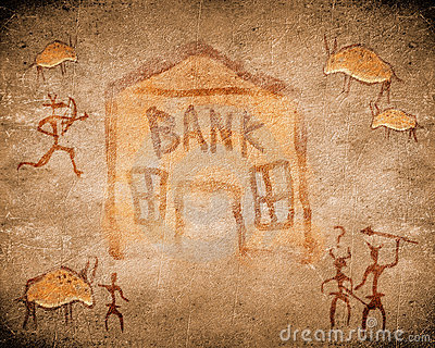 Prehistoric  bank
