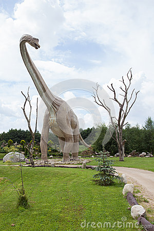 Prehistoric diplodocus