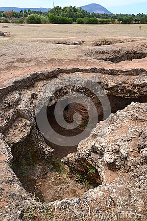 Prehistoric necropolis