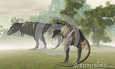 Prehistoric T-Rex