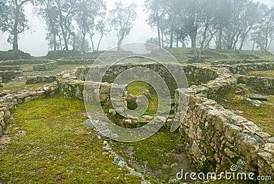 Prehistory ruins