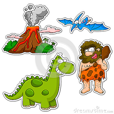 Prehystoric cartoons