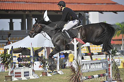 Premier Cup 2010 Show Jumping Equestrian Editorial Photography