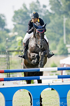 Premier Cup Equestrian Show Jumping Editorial Image