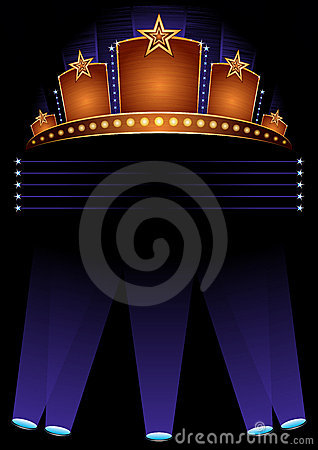 Premiere Poster Royalty Free Stock Photo - Image: 13665785
