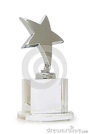 Premio della stella isolato