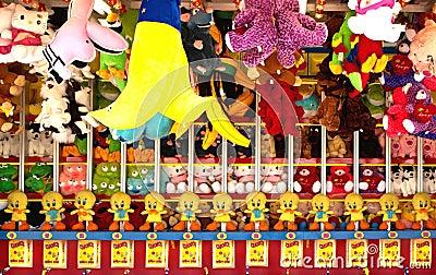 Premios del carnaval Foto editorial