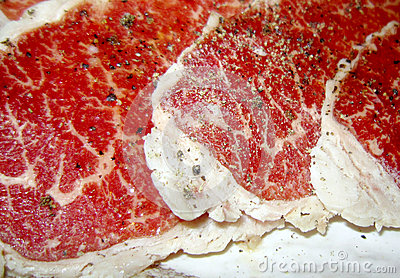 Premium red beef meat
