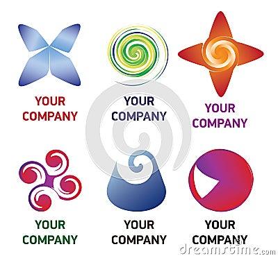 Premium company logo