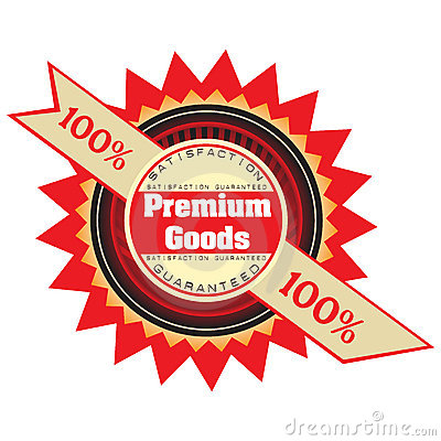 Premium goods badge