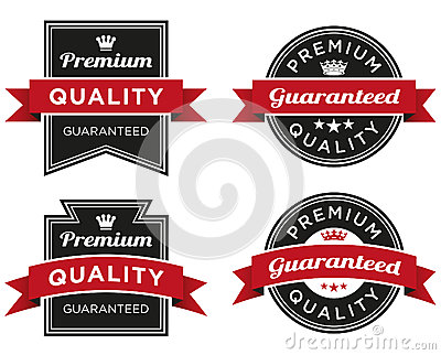 Premium Quality Guaranteed Label