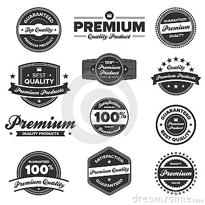 Free Premium Quality Labels Stock Image - 21710221