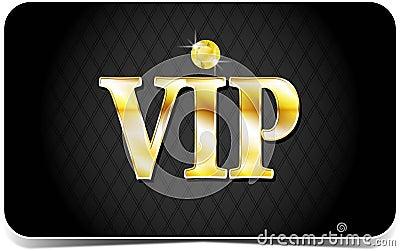Premium vip card