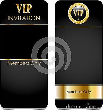Premium vip cards