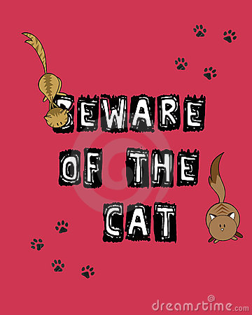 Prenez garde du chat