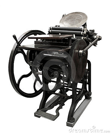 Prensa de copiar a partir de 1888