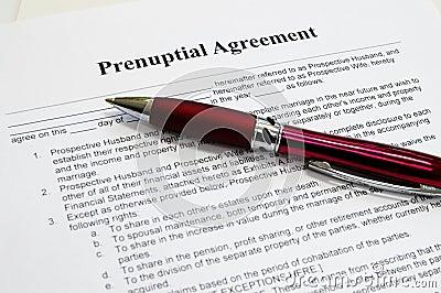 Prenuptial contract