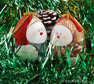 Preparation for christmas , decorations