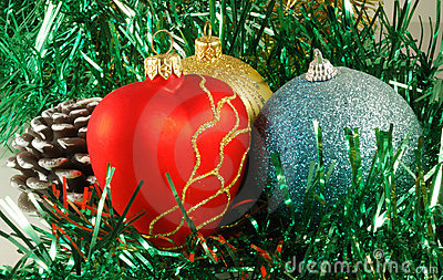 Preparation for christmas holidays, decorations