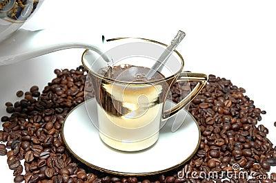 Prepare  the coffee