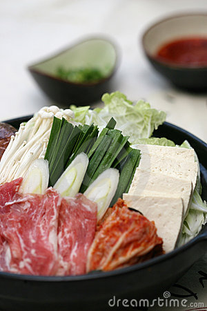Prepared and delicious sushi taken in studio