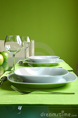 Free Prepared Dining Table Stock Photography - 2205262