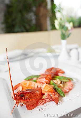 Prepared lobster