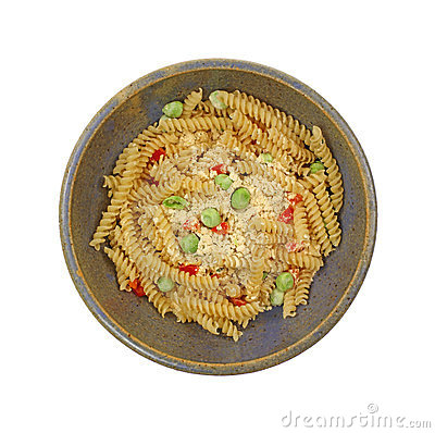 Prepared Rotini Pasta and Vegetable Meal
