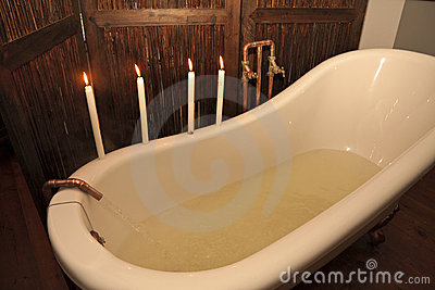 Preparing a bath