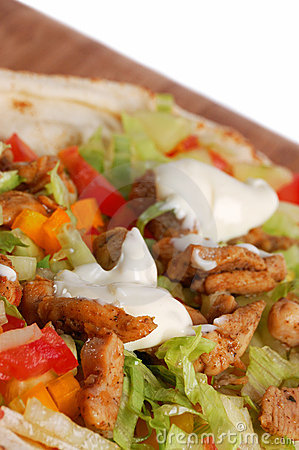 Free Preparing Food - Gyros Royalty Free Stock Images - 5814729