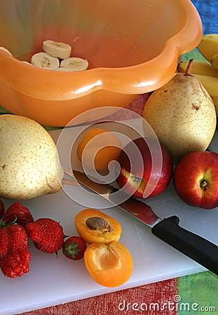 Preparing Fruit Salad III
