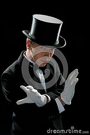 Free Preparing Magician Royalty Free Stock Photo - 9485475
