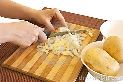 Preparing meal ingredients