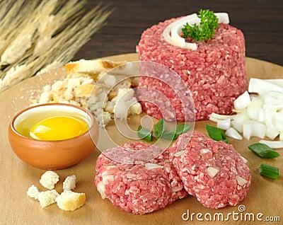 Preparing Meatball