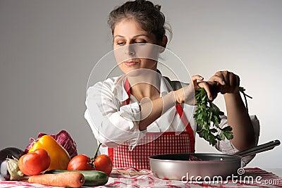 Preparing a potage