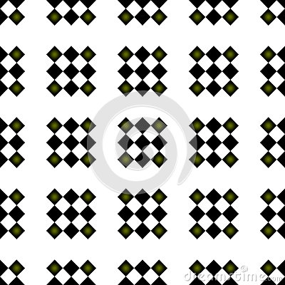 Preppy Seamless Checkered Repeating Pattern