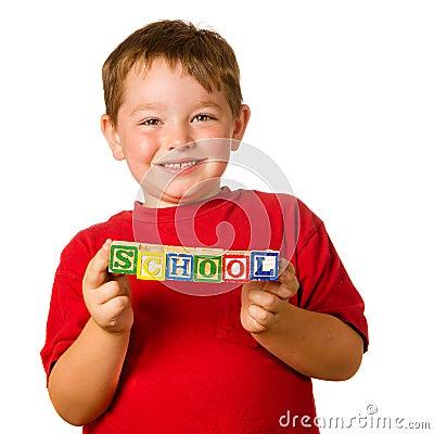 Preschool education concept