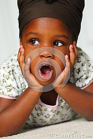 Free Preschool Girl Royalty Free Stock Photography - 4843097