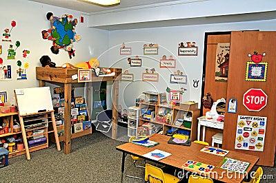 Preschool toy/fun area