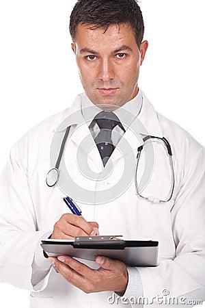 Prescrições da escrita do doutor