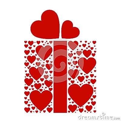 Present box of love