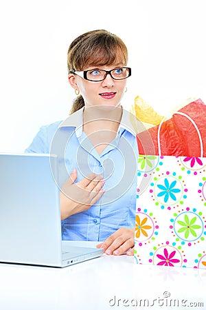 Present for businesswoman