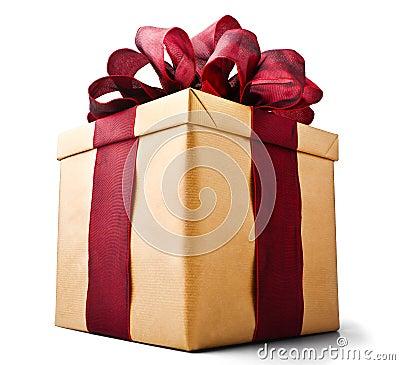Free Present Gift Box Royalty Free Stock Image - 20940716