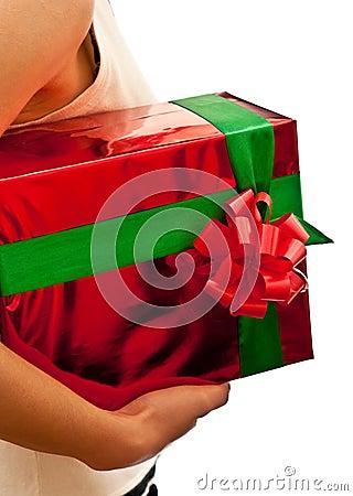 Present in hands