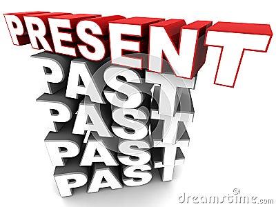Present over past