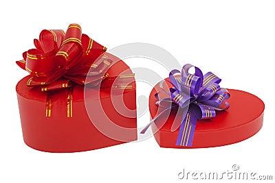 Present, packaging with jewellery loop