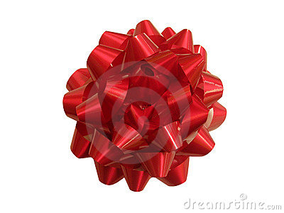 Present - red gift string