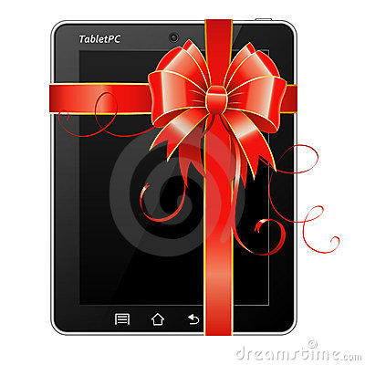 Present Tablet PC with Bow