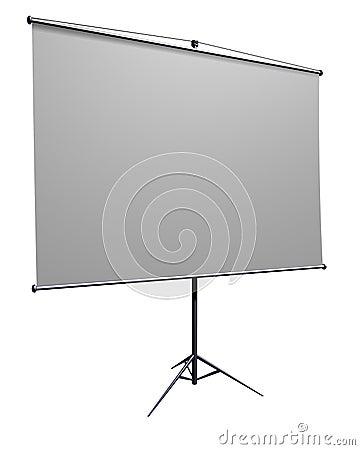 Presentation screen